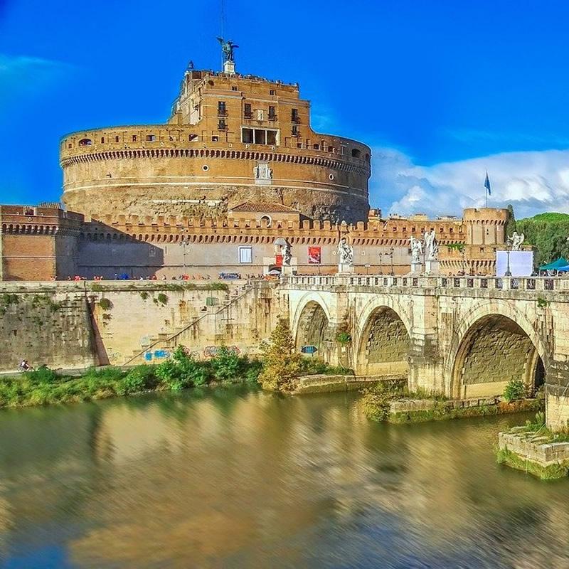 Foto esterna di Castel Sant'Angelo a Roma
